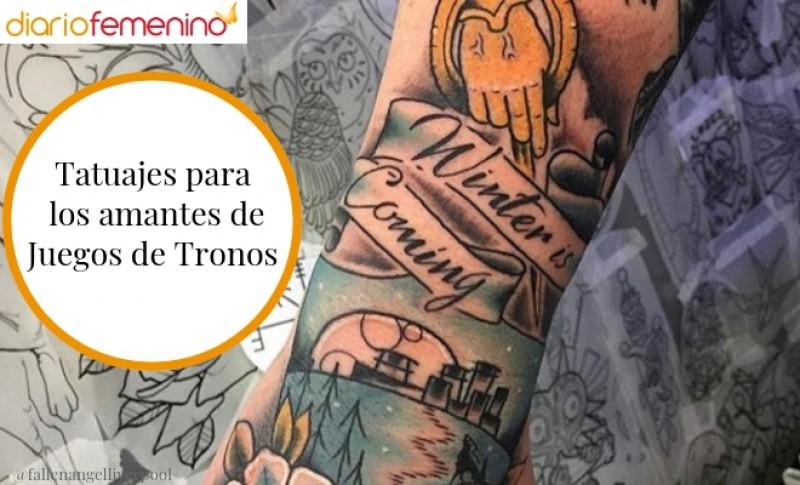 Tatuajes Para Los Amantes De Juegos De Tronos