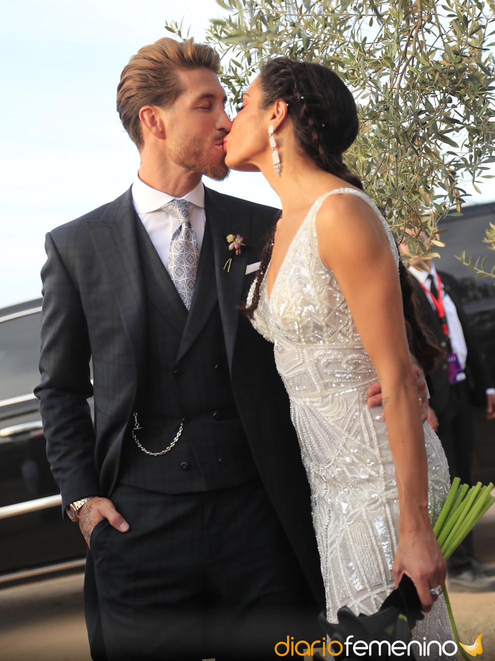 Pilar Rubio y Sergio Ramos: fotos de su historia de amor