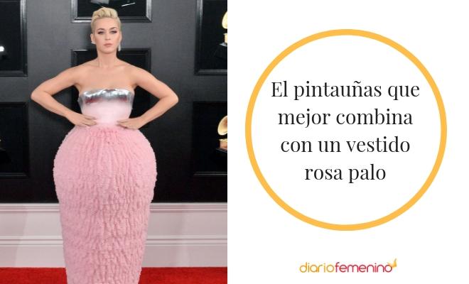 Cómo Combinar Las Uñas Con Un Vestido Rosa Palo Llamativa Y