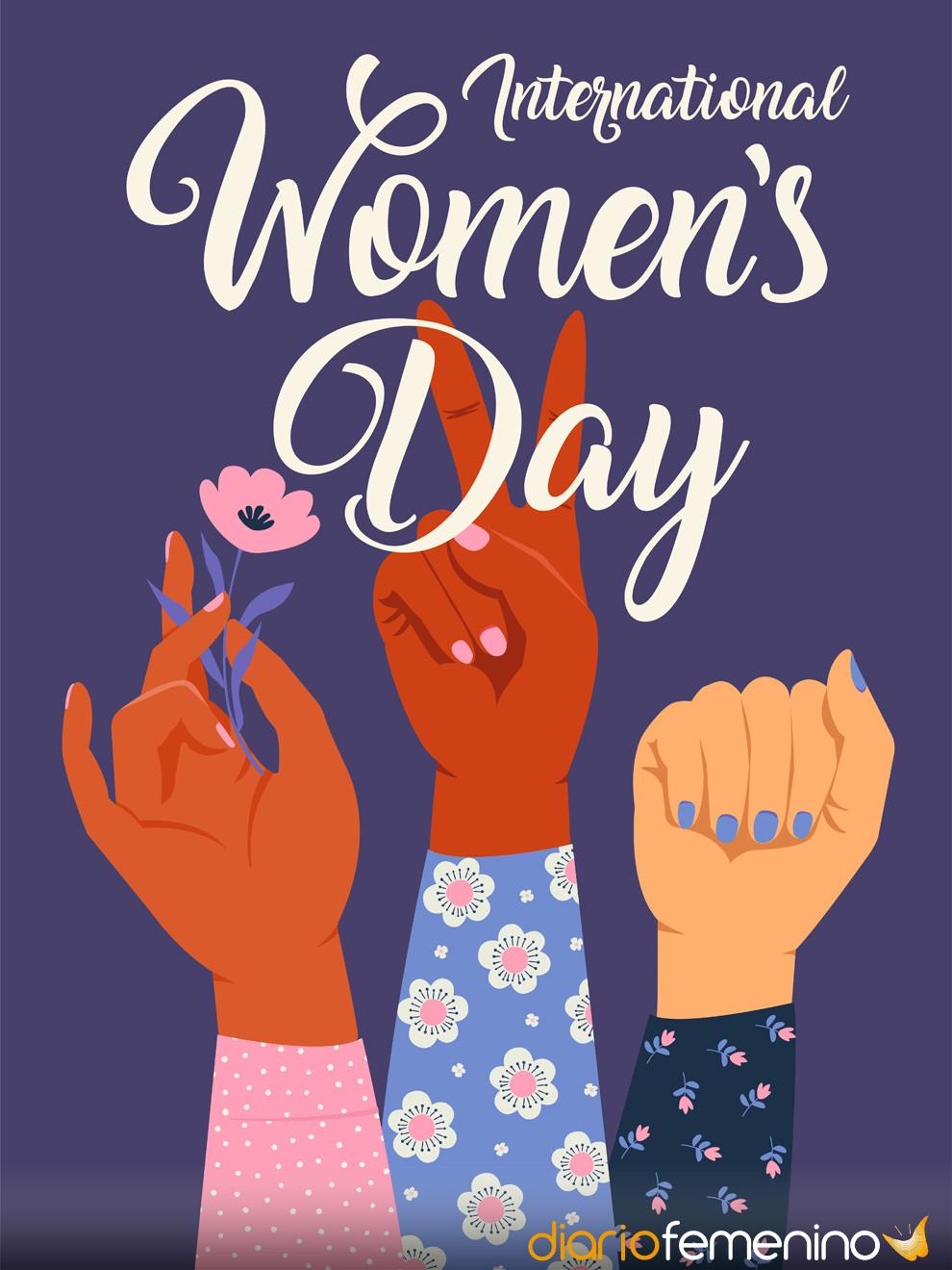 Día de la Mujer 2019: la mejor tarjeta para una mujer empoderada