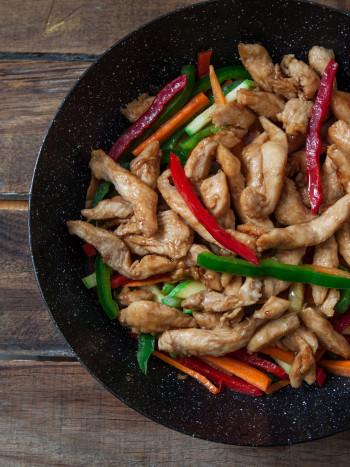Recetas de pollo al wok para sorprender: saludables y exquisitas