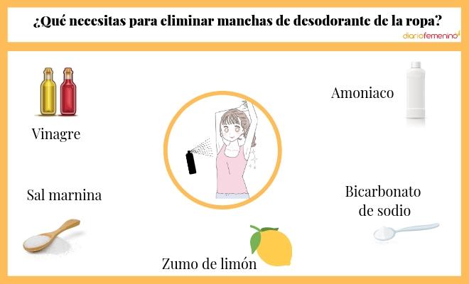 Quitar Manchas De Desodorante De La Ropa Trucos Eficientes Y Rápidos