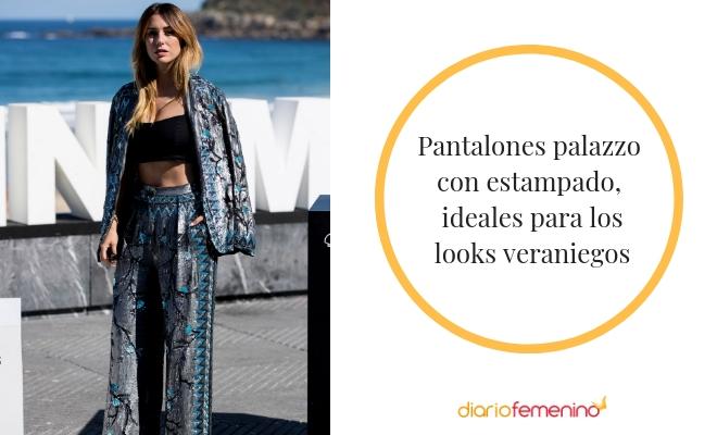 Formas De Lucir Los Pantalones Palazzo Outfits Elegantes E Informales