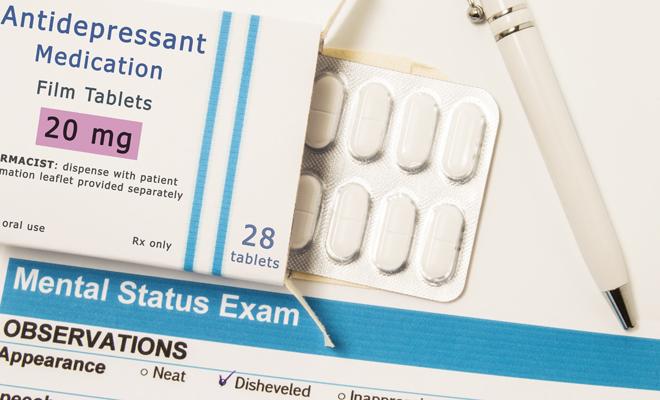 antidepresivos y pastillas para adelgazar