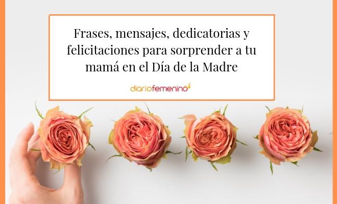 Día De La Madre 72 Frases Cortas Pero Intensas Para Felicitarla