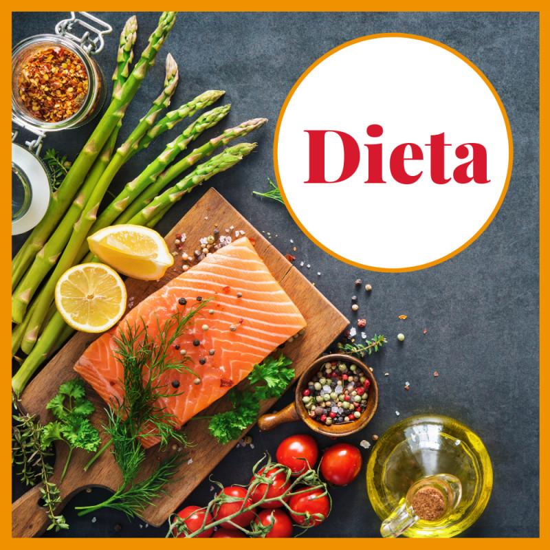 el significado de las siguientes palabras dieta