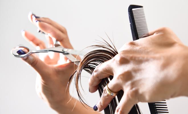 Sonar con cortarse el cabello corto