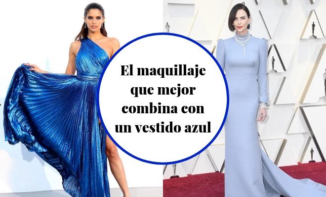 Cómo Maquillarse Para Un Vestido Azul Y Lucir Un Look