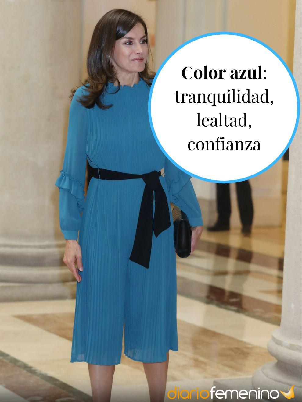 Color azul y su significado en la ropa: confianza y lealtad