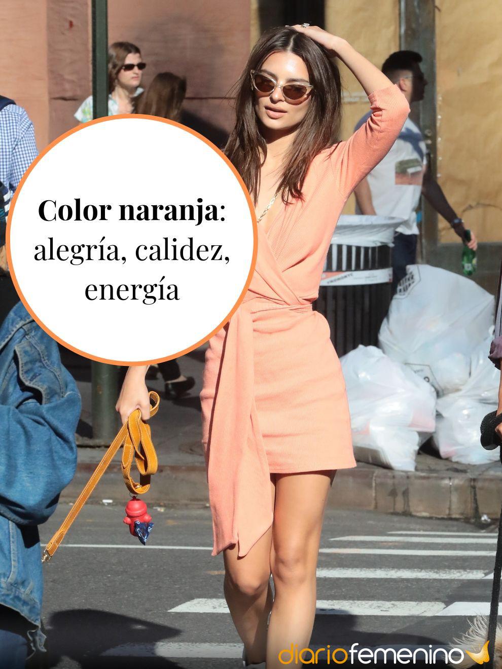Significado del color naranja en la ropa: calidez y energía