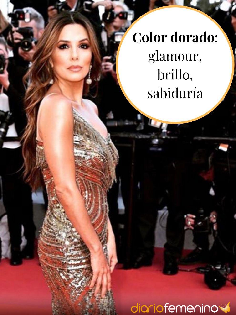 El glamouroso significado del color dorado en la ropa