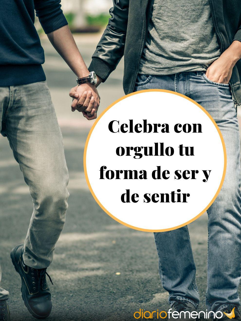 Frases de Orgullo Gay: siéntete orgulloso de tu condición y de tu amor