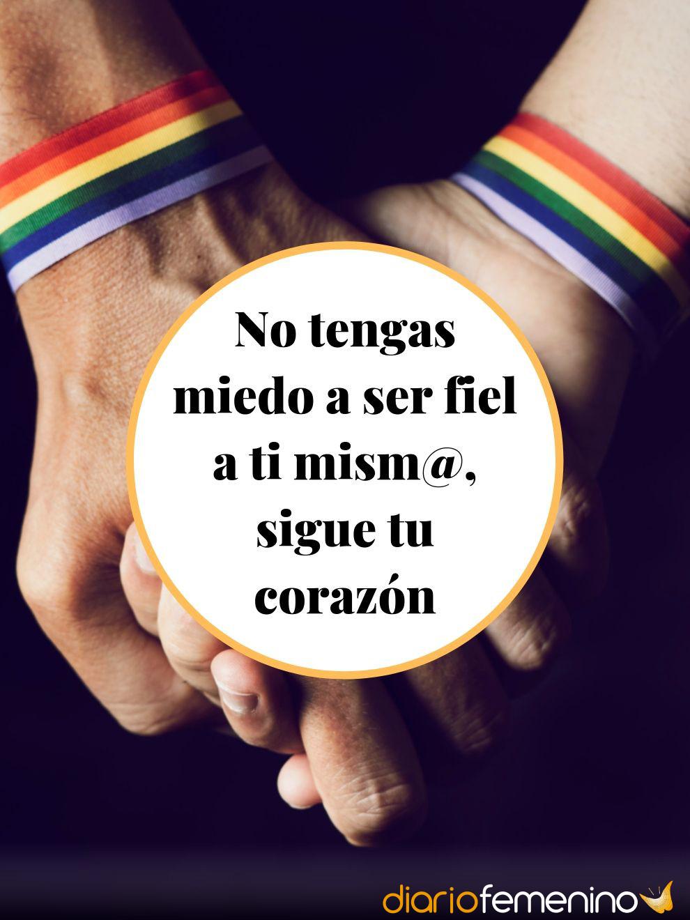 Frases de Orgullo Gay: sé fiel a tu corazón