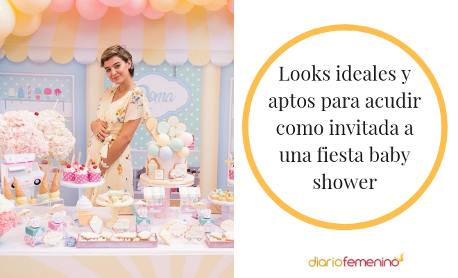 Ideas De Looks Cómodos Y Chic Para Ir A Un Baby Shower