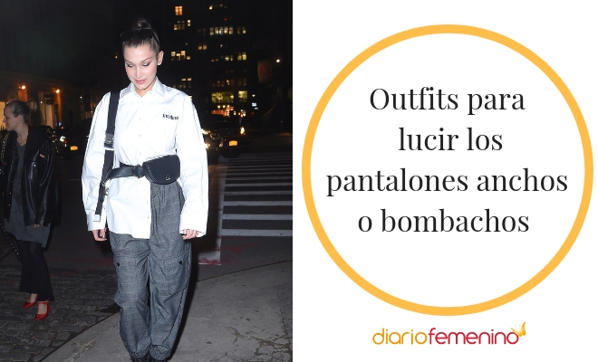 Trucos Y Looks Con Clase Para Combinar Pantalones Bombachos O Anchos