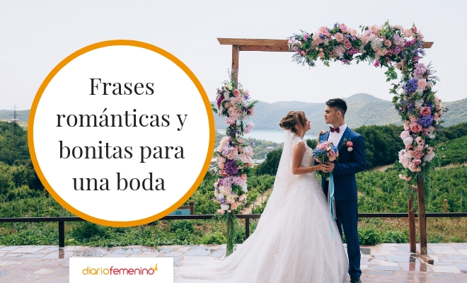 Frase De Matrimonio Y Amor.114 Frases Bonitas Para Una Boda Palabras De Amor Para Novios E