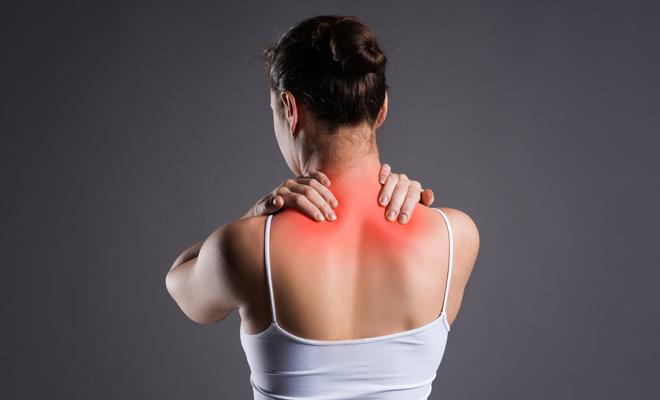 Tratamiento para dolor de hombros y cuello