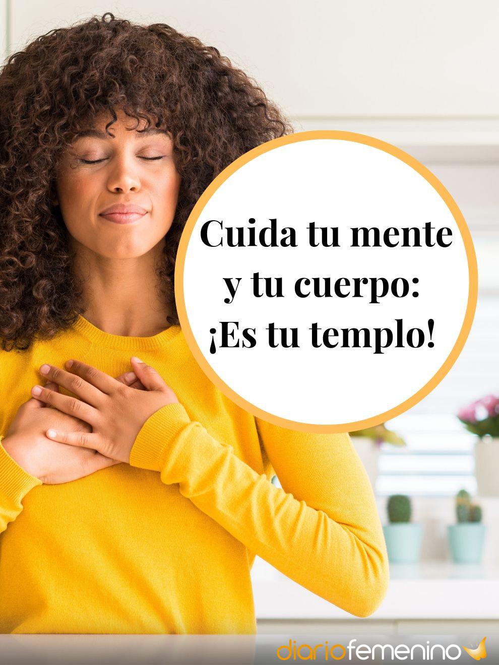 Frases para valorar tu salud: cuida tu cuerpo
