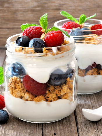 Recetas de desayunos con yogur para tener mucha energía desde la mañana