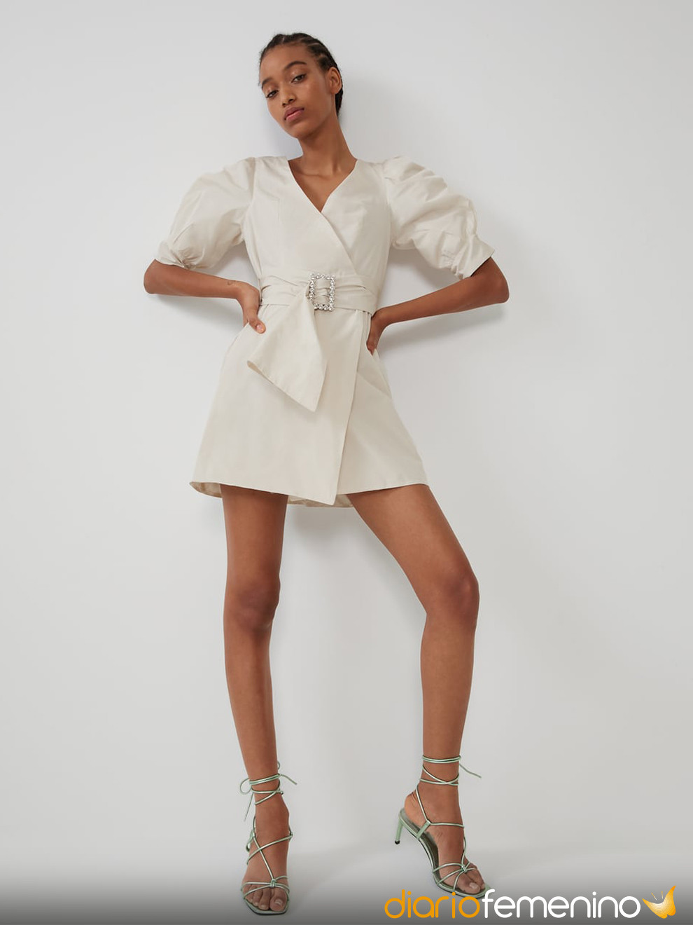 Vestido Blanco Roto De Zara Para Nochevieja 2019 2020