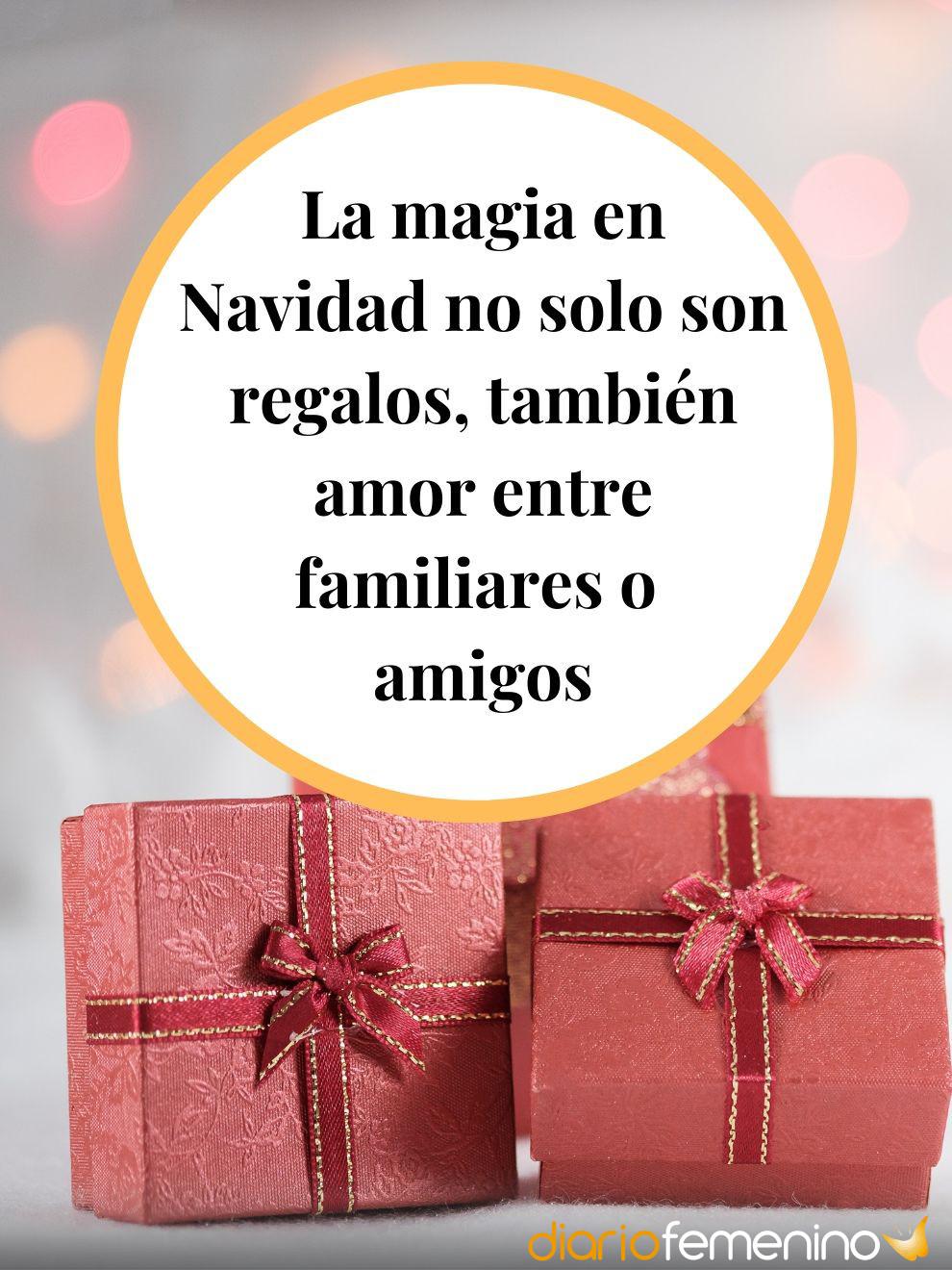 La magia en Navidad no sólo son los regalos, sino el amor