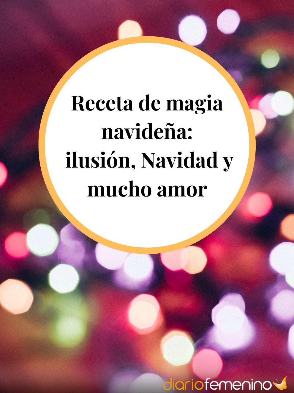 La magia de la Navidad es lo que hace que el amor sea posible