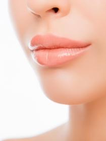 Los labios de la mujer y la personalidad femenina