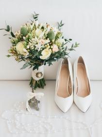 Unos zapatos de novia diferentes