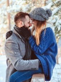 Historia de amor en Nochebuena: una cena diferente a base de pasión