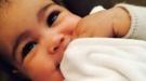 ¿Le ha depilado Kim Kardashian las cejas a su hija? La foto de la polémica