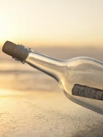 Mensaje en una botella: regala una carta de amor