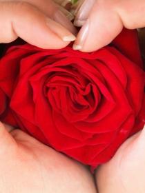 Manicura para San Valentín