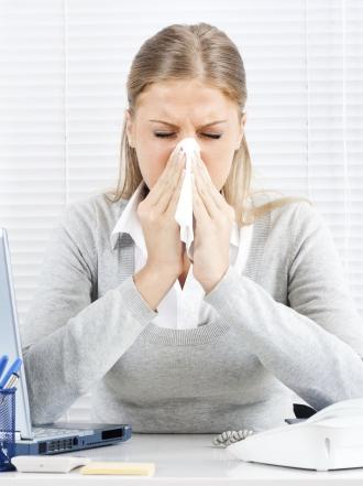 Estrés a causa de la alergia