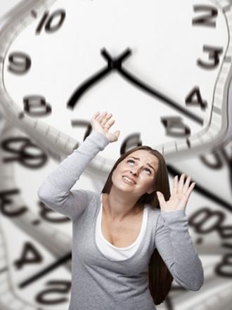 Estrés por falta de tiempo