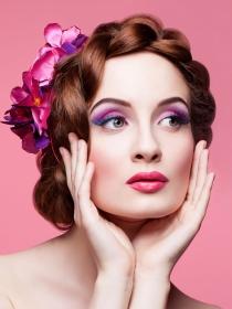 Maquillaje en tonos rosados: ¡la vie en rose!