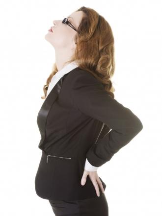 Baja laboral con dolor de espalda