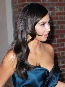 El descuido de Kim Kardashian en la Gala MET 2014