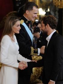 David Bisbal y Alejandro Sanz, entre los invitados de Letizia a la coronación