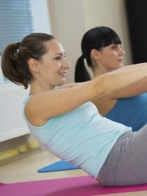 Ejercicios de pilates para adelgazar y estar en forma
