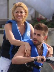 Shakira y Piqué, de vacaciones en la playa a la final del Mundial