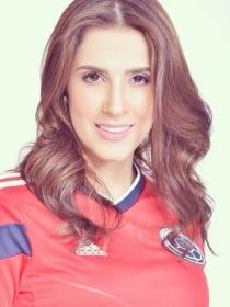 Daniela Ospina, esposa y consuelo de James Rodríguez tras caer en el Mundial 2014