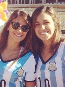 Antonella Roccuzzo, novia de Messi y la fan más sexy de Argentina