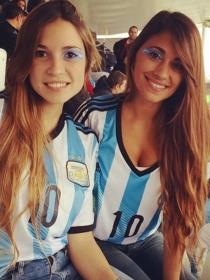 Antonella Roccuzzo, novia de Messi, la argentina más 'hot' de la final del Mundial