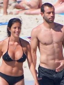 La esposa de Mascherano VS la novia de Götze: el Alemania Argentina más apasionante