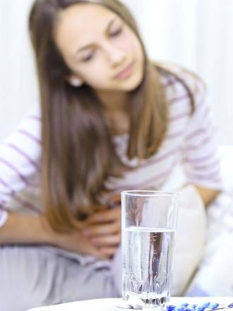 Infección y dolor de estómago