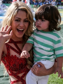 La panza de Shakira: ¿está embarazada de su segundo hijo?