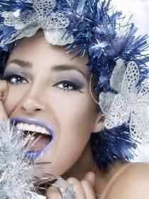 Vídeos tutoriales de maquillaje fantasía para Navidad