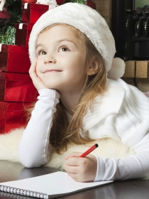Cartas divertidas a Santa Claus y los Reyes Magos: ¡Oh, blanca Navidad!