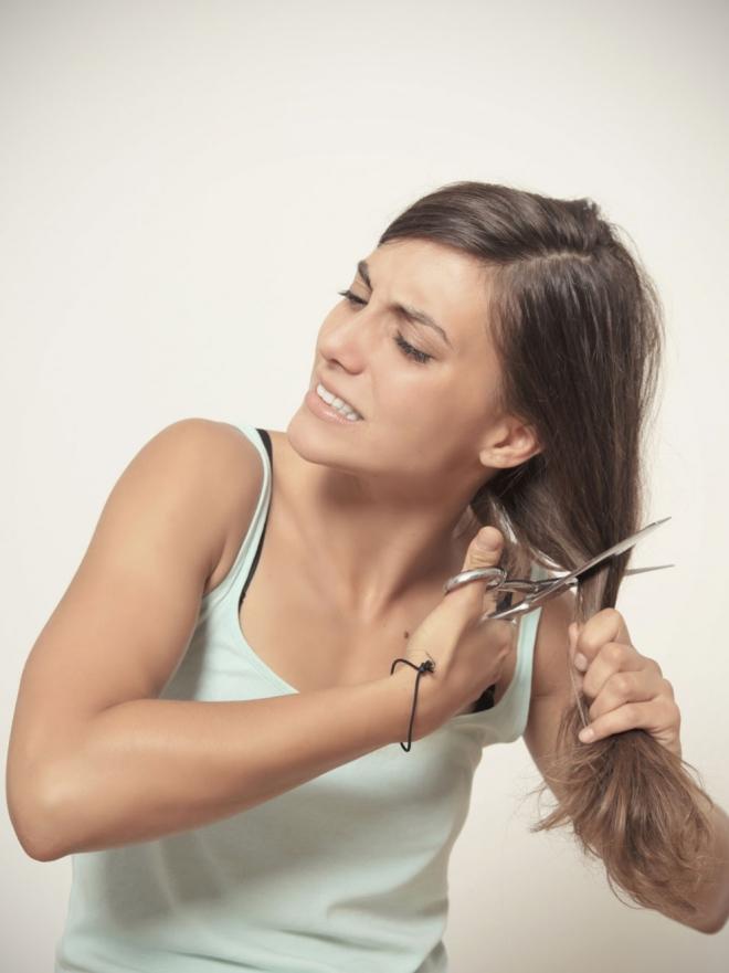 Cortes de cabello fino y poco