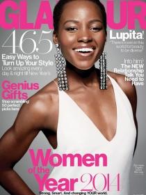 Lupita Nyong'o es la 'mujer del año 2014' en la portada de Glamour